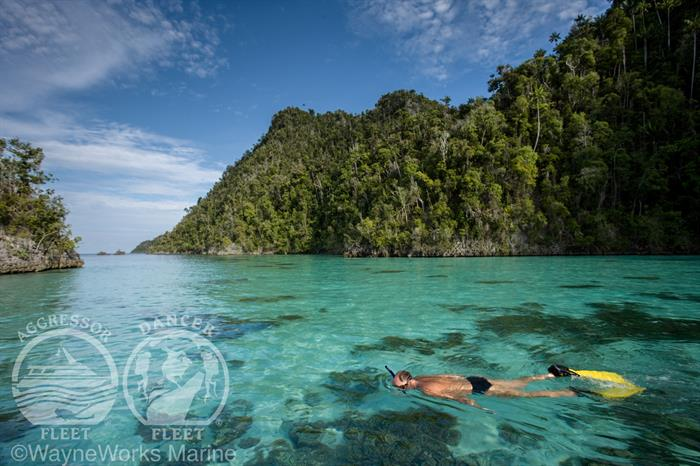 Stunning Scenery with Raja Ampat Aggressor